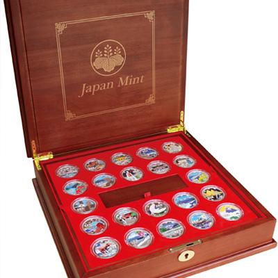 千円カラー記念銀貨47都道府県+1枚 特別セット