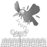 【画期的な害鳥忌避具】カラスなぜ逃げる?