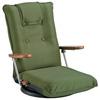 【新商品】日本製 肘掛付き回転座椅子をアップしました