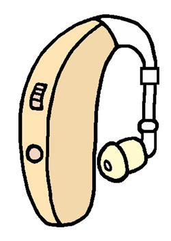 補聴器イラスト