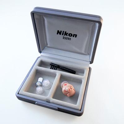 ニコン デジタル耳あな型補聴器 イヤファッション NEF-07
