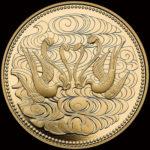 【《造幣局発行》稀少な10万円プルーフ金貨に銀貨白銅貨を収蔵】天皇陛下御在位60年記念貨幣セット